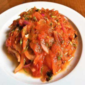 Mashed Tomatoes-টমেটো ভর্তা